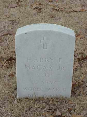 MAGAR, JR (VETERAN WWII), HARRY E - Pulaski County, Arkansas | HARRY E MAGAR, JR (VETERAN WWII) - Arkansas Gravestone Photos