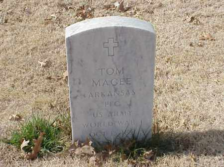 MAGEE (WWI), TOM - Pulaski County, Arkansas | TOM MAGEE (WWI) - Arkansas Gravestone Photos