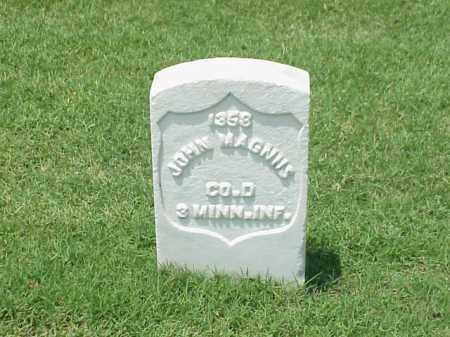 MAGNUS (VETERAN UNION), JOHN - Pulaski County, Arkansas | JOHN MAGNUS (VETERAN UNION) - Arkansas Gravestone Photos