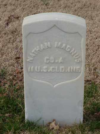 MAGNUS (VETERAN UNION), NATHAN - Pulaski County, Arkansas | NATHAN MAGNUS (VETERAN UNION) - Arkansas Gravestone Photos