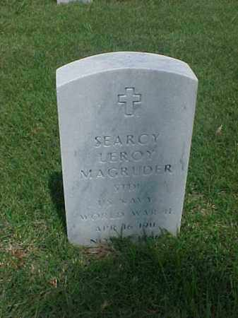 MAGRUDER (VETERAN WWII), SEARCY LEROY - Pulaski County, Arkansas | SEARCY LEROY MAGRUDER (VETERAN WWII) - Arkansas Gravestone Photos