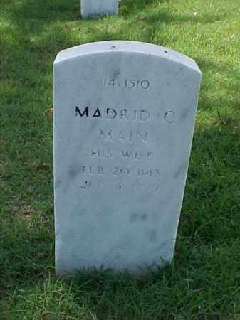 MAIN, MADRID C - Pulaski County, Arkansas | MADRID C MAIN - Arkansas Gravestone Photos