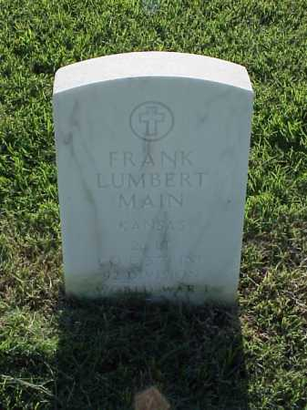 MAIN (VETERAN WWI), FRANK LUMBERT - Pulaski County, Arkansas | FRANK LUMBERT MAIN (VETERAN WWI) - Arkansas Gravestone Photos