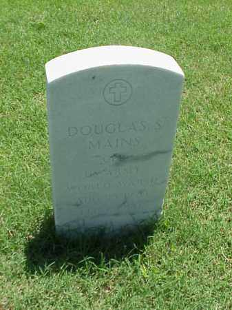 MAINS (VETERAN WWII), DOUGLAS S - Pulaski County, Arkansas | DOUGLAS S MAINS (VETERAN WWII) - Arkansas Gravestone Photos