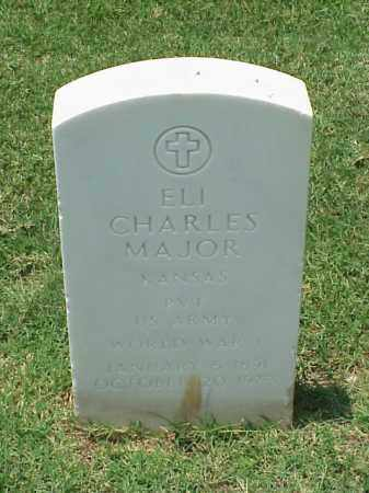 MAJOR (VETERAN WWI), ELI CHARLES - Pulaski County, Arkansas | ELI CHARLES MAJOR (VETERAN WWI) - Arkansas Gravestone Photos
