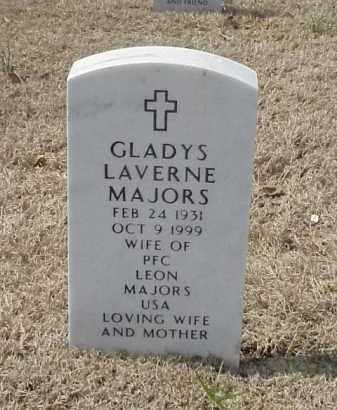 MAJORS, GLADYS LAVERNE - Pulaski County, Arkansas | GLADYS LAVERNE MAJORS - Arkansas Gravestone Photos