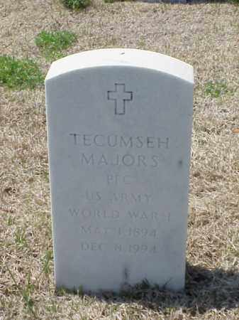 MAJORS (VETERAN WWI), TECUMSEH - Pulaski County, Arkansas | TECUMSEH MAJORS (VETERAN WWI) - Arkansas Gravestone Photos