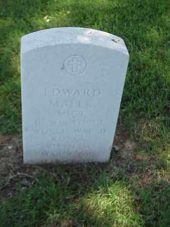 MALEK (VETERAN 3 WARS), EDWARD - Pulaski County, Arkansas | EDWARD MALEK (VETERAN 3 WARS) - Arkansas Gravestone Photos