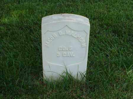 MALHORN (VETERAN UNION), JACOB B - Pulaski County, Arkansas | JACOB B MALHORN (VETERAN UNION) - Arkansas Gravestone Photos