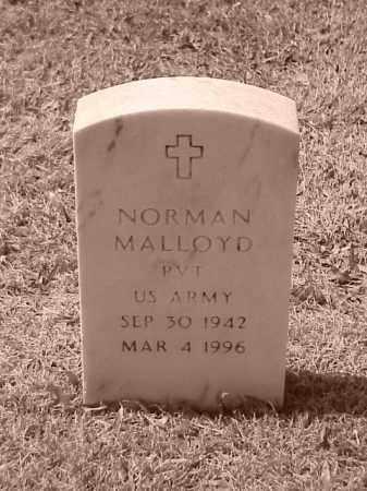 MALLOYD (VETERAN), NORMAN - Pulaski County, Arkansas | NORMAN MALLOYD (VETERAN) - Arkansas Gravestone Photos