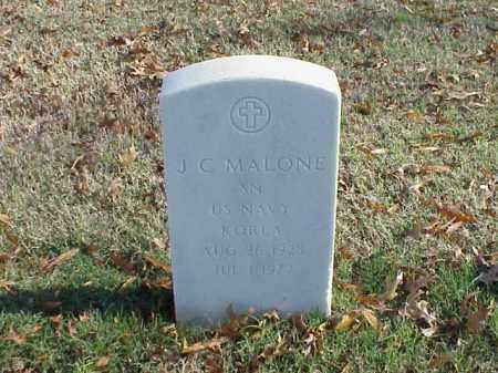 MALONE (VETERAN KOR), J C - Pulaski County, Arkansas | J C MALONE (VETERAN KOR) - Arkansas Gravestone Photos