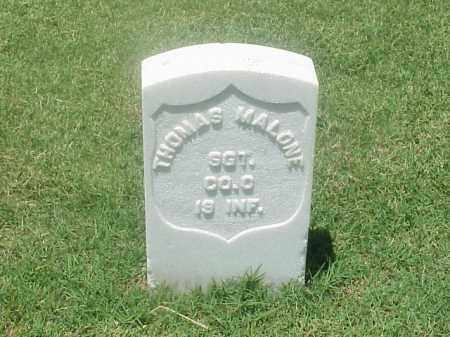 MALONE (VETERAN UNION), THOMAS - Pulaski County, Arkansas | THOMAS MALONE (VETERAN UNION) - Arkansas Gravestone Photos