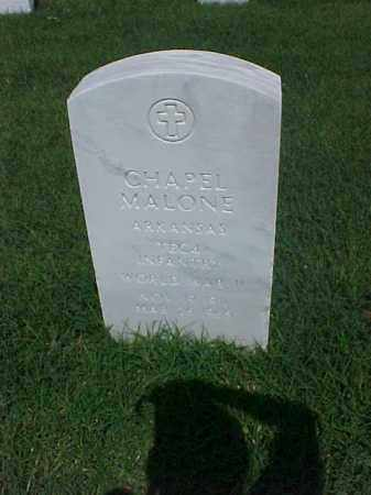 MALONE (VETERAN WWII), CHAPEL - Pulaski County, Arkansas | CHAPEL MALONE (VETERAN WWII) - Arkansas Gravestone Photos