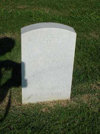 MALONE (VETERAN WWII), GARVEN A - Pulaski County, Arkansas | GARVEN A MALONE (VETERAN WWII) - Arkansas Gravestone Photos