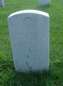 MALONEY (VETERAN 3 WARS), WILLIAM F - Pulaski County, Arkansas | WILLIAM F MALONEY (VETERAN 3 WARS) - Arkansas Gravestone Photos