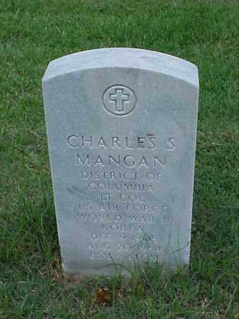 MANGAN (VETERAN 2 WARS), CHARLES S - Pulaski County, Arkansas | CHARLES S MANGAN (VETERAN 2 WARS) - Arkansas Gravestone Photos