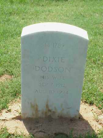 MANGES, DIXIE DODSON - Pulaski County, Arkansas | DIXIE DODSON MANGES - Arkansas Gravestone Photos