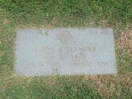 MANLEY (VETERAN), ALVIN L - Pulaski County, Arkansas | ALVIN L MANLEY (VETERAN) - Arkansas Gravestone Photos