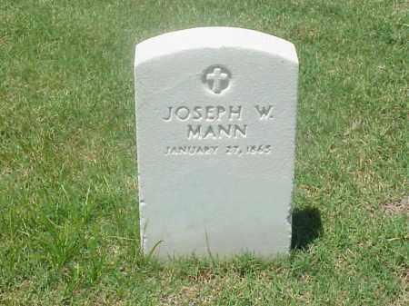 MANN, JOSEPH  W - Pulaski County, Arkansas | JOSEPH  W MANN - Arkansas Gravestone Photos