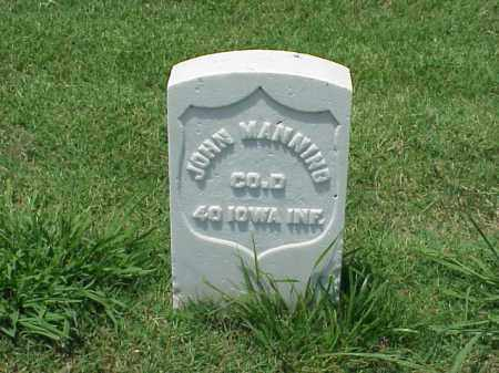 MANNING (VETERAN UNION), JOHN - Pulaski County, Arkansas | JOHN MANNING (VETERAN UNION) - Arkansas Gravestone Photos