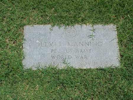 MANNING (VETERAN WWI), LEVI H - Pulaski County, Arkansas | LEVI H MANNING (VETERAN WWI) - Arkansas Gravestone Photos