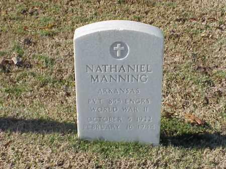 MANNING (VETERAN WWII), NATHANIEL - Pulaski County, Arkansas | NATHANIEL MANNING (VETERAN WWII) - Arkansas Gravestone Photos