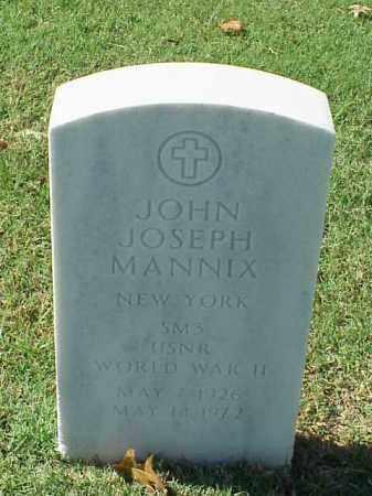 MANNIX (VETERAN WWII), JOHN JOSEPH - Pulaski County, Arkansas | JOHN JOSEPH MANNIX (VETERAN WWII) - Arkansas Gravestone Photos