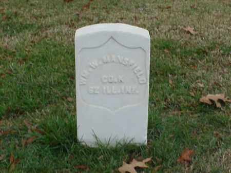 MANSFIELD (VETERAN UNION), WILLIAM W - Pulaski County, Arkansas | WILLIAM W MANSFIELD (VETERAN UNION) - Arkansas Gravestone Photos