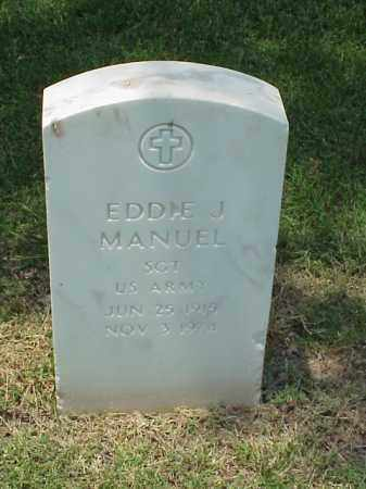 MANUEL (VETERAN), EDDIE J - Pulaski County, Arkansas | EDDIE J MANUEL (VETERAN) - Arkansas Gravestone Photos