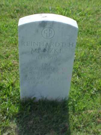MANZKE (VETERAN WWI), REINHARDT H - Pulaski County, Arkansas | REINHARDT H MANZKE (VETERAN WWI) - Arkansas Gravestone Photos
