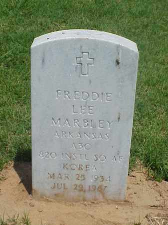 MARBLEY (VETERAN KOR), FREDDIE LEE - Pulaski County, Arkansas | FREDDIE LEE MARBLEY (VETERAN KOR) - Arkansas Gravestone Photos