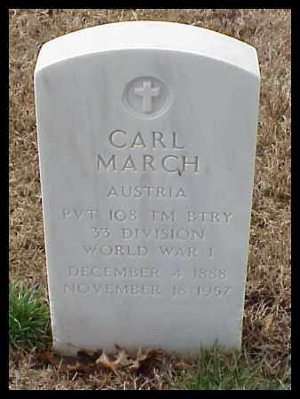 MARCH (VETERAN WWI), CARL - Pulaski County, Arkansas | CARL MARCH (VETERAN WWI) - Arkansas Gravestone Photos
