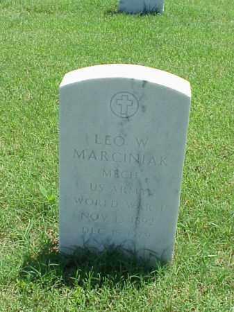 MARCINIAK (VETERAN WWI), LEO W - Pulaski County, Arkansas | LEO W MARCINIAK (VETERAN WWI) - Arkansas Gravestone Photos