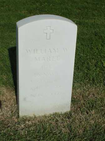 MAREE (VETERAN KOR), WILLIAM W - Pulaski County, Arkansas | WILLIAM W MAREE (VETERAN KOR) - Arkansas Gravestone Photos