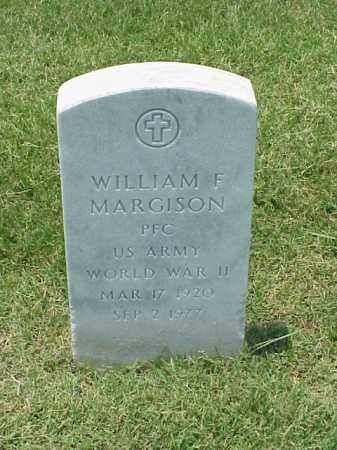 MARGISON (VETERAN WWII), WILLIAM F - Pulaski County, Arkansas | WILLIAM F MARGISON (VETERAN WWII) - Arkansas Gravestone Photos