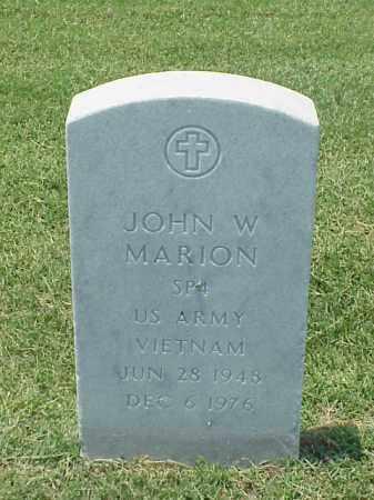MARION (VETERAN VIET), JOHN W - Pulaski County, Arkansas | JOHN W MARION (VETERAN VIET) - Arkansas Gravestone Photos