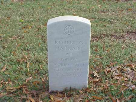 MARKART (VETERAN WWI), ROBERT GROVE - Pulaski County, Arkansas | ROBERT GROVE MARKART (VETERAN WWI) - Arkansas Gravestone Photos