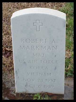 MARKMAN (VETERAN 2 WARS), ROBERT A - Pulaski County, Arkansas | ROBERT A MARKMAN (VETERAN 2 WARS) - Arkansas Gravestone Photos