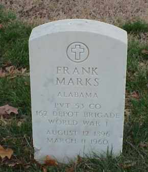MARKS  (VETERAN WWI), FRANK - Pulaski County, Arkansas | FRANK MARKS  (VETERAN WWI) - Arkansas Gravestone Photos