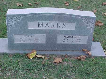 MARKS, LESTER S - Pulaski County, Arkansas | LESTER S MARKS - Arkansas Gravestone Photos