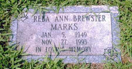MARKS, REBA ANN - Pulaski County, Arkansas | REBA ANN MARKS - Arkansas Gravestone Photos