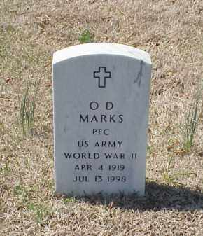 MARKS (VETERAN WWII), O D - Pulaski County, Arkansas | O D MARKS (VETERAN WWII) - Arkansas Gravestone Photos