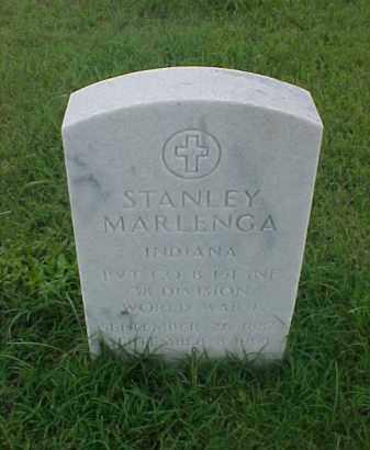 MARLENGA (VETERAN WWI), STANLEY - Pulaski County, Arkansas | STANLEY MARLENGA (VETERAN WWI) - Arkansas Gravestone Photos