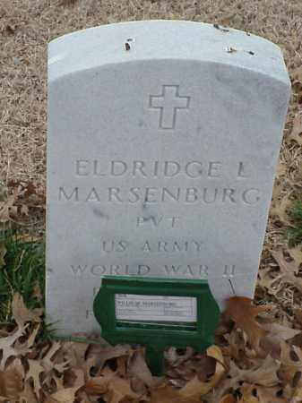 MARSENBURG (VETERAN WWII), ELDRIDGE L - Pulaski County, Arkansas | ELDRIDGE L MARSENBURG (VETERAN WWII) - Arkansas Gravestone Photos