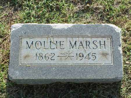 MARSH, MOLLIE - Pulaski County, Arkansas | MOLLIE MARSH - Arkansas Gravestone Photos