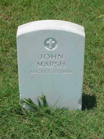 MARSH (VETERAN UNION), JOHN - Pulaski County, Arkansas | JOHN MARSH (VETERAN UNION) - Arkansas Gravestone Photos