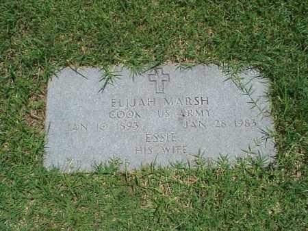 MARSH (VETERAN WWI), ELIJAH - Pulaski County, Arkansas   ELIJAH MARSH (VETERAN WWI) - Arkansas Gravestone Photos