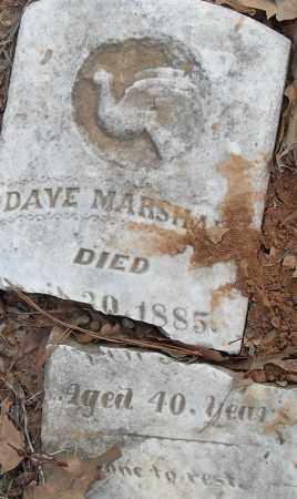 MARSHAL-, DAVE - Pulaski County, Arkansas | DAVE MARSHAL- - Arkansas Gravestone Photos