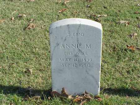 MARSHALL, ANNIE M. - Pulaski County, Arkansas | ANNIE M. MARSHALL - Arkansas Gravestone Photos