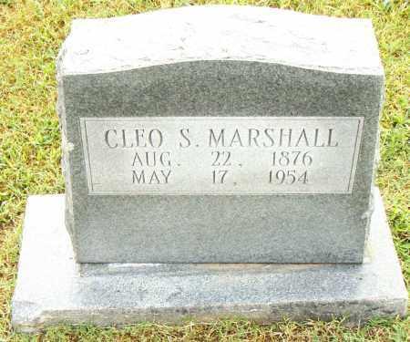 MARSHALL, CLEO S. - Pulaski County, Arkansas | CLEO S. MARSHALL - Arkansas Gravestone Photos